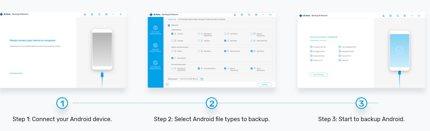 Backup and Restore Android Data Backup Guide