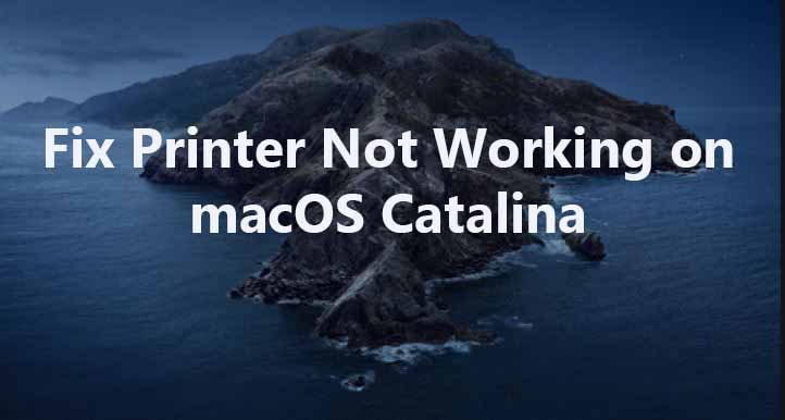 Fix Printer Not Working After Upgrading Mac to macOS Catalina